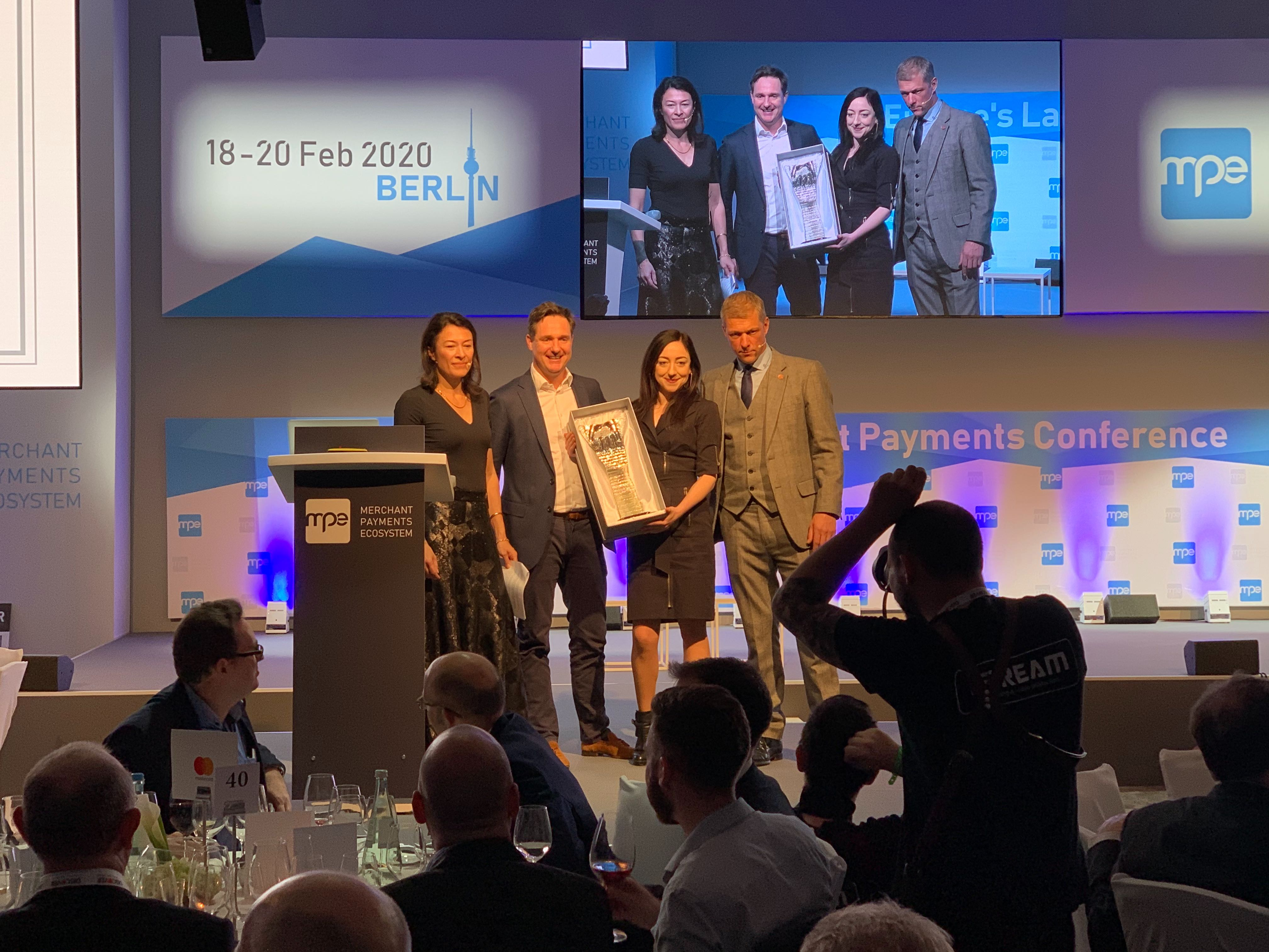 Daria Rippingale Bankingblocks CEO receives MPE Influencer of the Year Award 2020